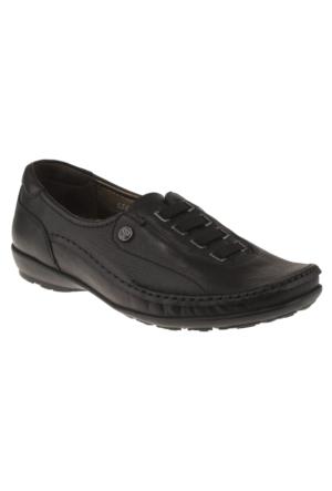 Forelli 33016 Comfort Siyah Kadın Ayakkabı