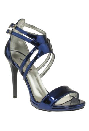 Alisolmaz 3050 Çift Toka Mavi Kadın Ayakkabı