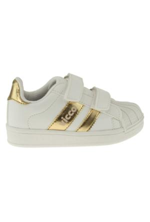 Vicco 937Y647 Bağlı Altın Çocuk Spor Ayakkabı