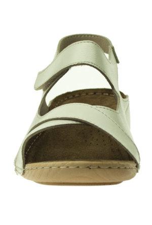 Muya 22273 Çapraz Bant Bej Kadın Sandalet