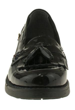 U.S. Polo Assn. Puskullu Siyah Kadın Ayakkabı