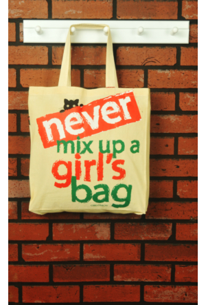 Tuander Never Mıx Cloth Bag Bez Çanta