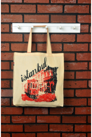 Tuander Istıklal Street Cloth Bag Bez Çanta