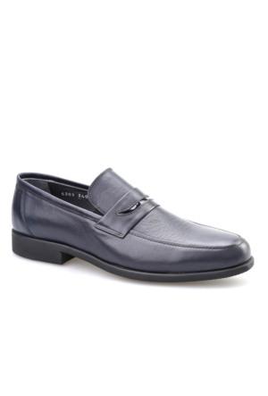 Cabani Kemerli Erkek Ayakkabı Lacivert Analin Deri