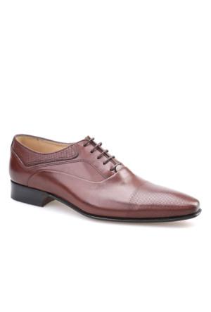 Nevzat Lazerli Klasik Erkek Ayakkabı Kahverengi Antik Deri