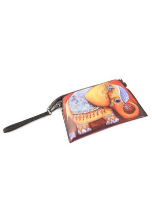 Fil Figürlü Çanta