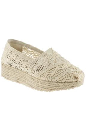 Fiorella 180 0653Z Bej Ayakkabı