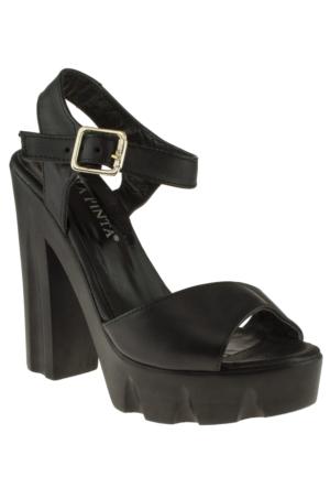 La Pinta 270 068-89Z Siyah Ayakkabı