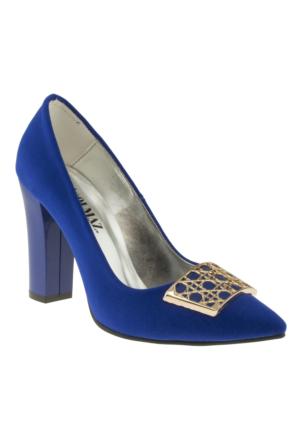 Alisolmaz 151 730-2Z Mavi Abiye Ayakkabı