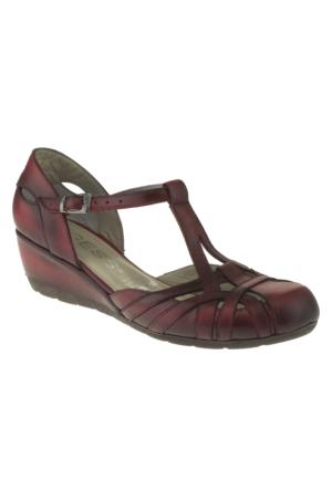 Gess 275 292Z Kırmızı Ayakkabı
