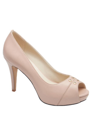 Miss F F16049 Bej Kadın Ayakkabı