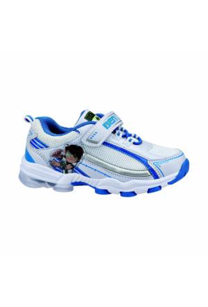 Ben Ten Bastor Beyaz Erkek Çocuk Sneaker Ayakkabı