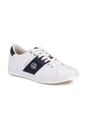 Panama Club Haly M 1612 Beyaz Lacivert Erkek Sneaker