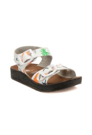 Seventeen Bırky Beyaz Kız Çocuk Sandalet