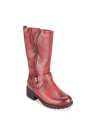 Pink Step A3310386 Bordo Kız Çocuk Çizme