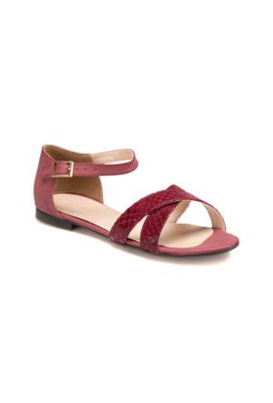 Polaris 61.308268.Z Bordo Kadın Sandalet