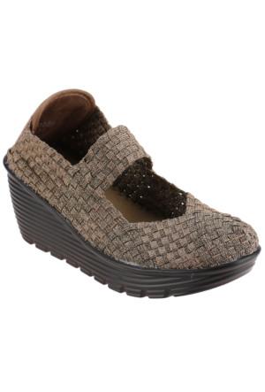 Art Bella Bobby Bronz Kadın Ayakkabı