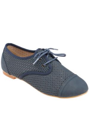 Art Bella C16008 Lacivert Kadın Ayakkabı