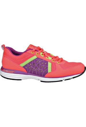 Kinetix 1235346 Pembe Mor Yeşil Kadın Fitness Ayakkabısı