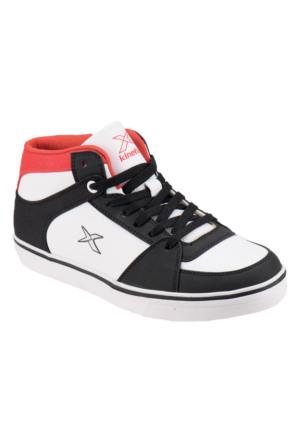 Kinetix 1271816 Siyah Beyaz Kırmızı Erkek Çocuk Sneaker Ayakkabı