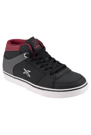 Kinetix 1271819 Siyah Bordo Antrasit Erkek Çocuk Sneaker Ayakkabı