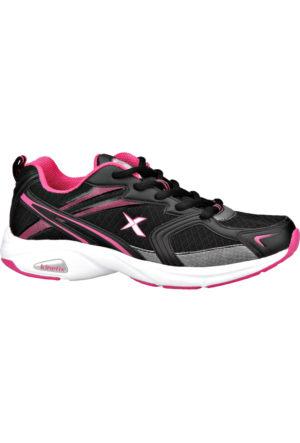 Kinetix 1235589 Siyah Beyaz Fuşya Kadın Koşu Ayakkabısı