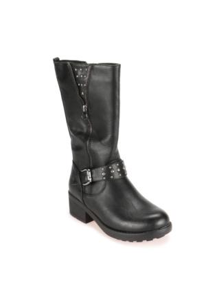 Pink Step A3310383 Siyah Kız Çocuk Çizme