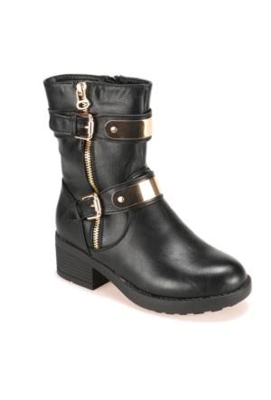 Pink Step A3310409 Siyah Kız Çocuk Ayakkabı