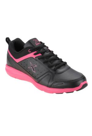Kinetix 1250964 Siyah Fuşya Kadın Koşu Ayakkabısı