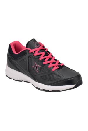 Kinetix 1251027 Siyah Fuşya Beyaz Kadın Koşu Ayakkabısı