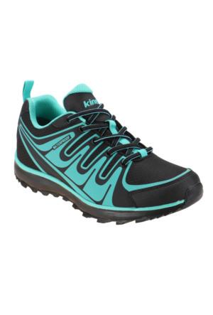 Kinetix 1251021 Siyah Turkuaz Kadın Koşu Ayakkabısı