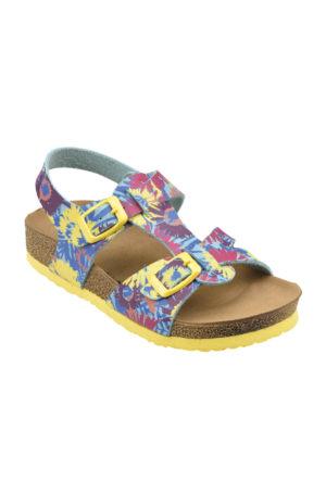 Kinetix A1291420 Turkuaz Sarı Fuşya Kız Çocuk Sandalet