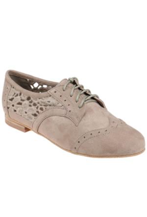 Art Bella C16159 Vizon Kadın Ayakkabı