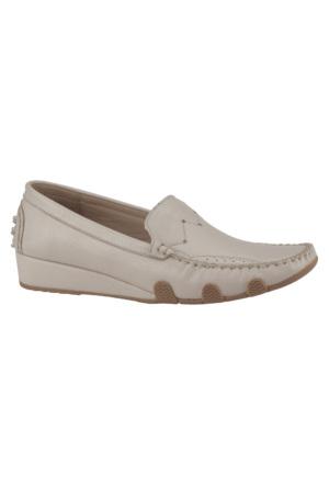 Dockers By Gerli 288178 Bej Kadın Deri Ayakkabı