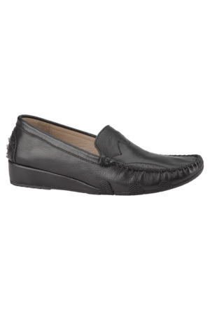 Dockers By Gerli 288175 Siyah Kadın Deri Ayakkabı