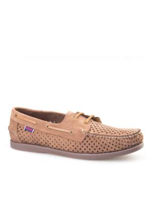 Cabani Marin Tekne - Erkek Ayakkabı Taba Nubuk