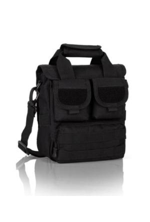 Protector Plus Çok Gözlü Postacı Çanta (Siyah)