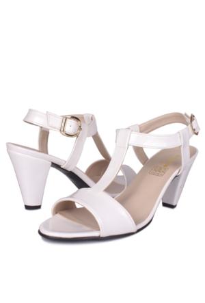 Loggalin 375747 031 468 Kadın Beyaz Günlük Ayakkabı