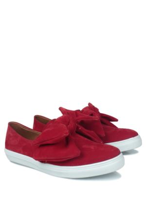Loggalin 126128 031 525 Kadın Kırmızı Ayakkabı