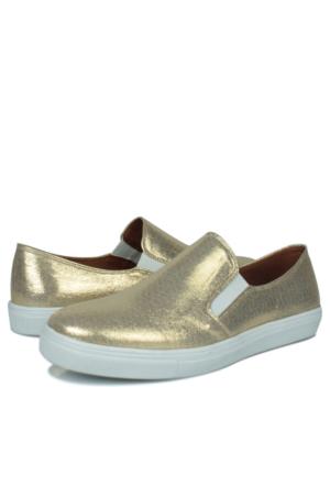 Loggalin 126130 031 721 Kadın Altın Ayakkabı