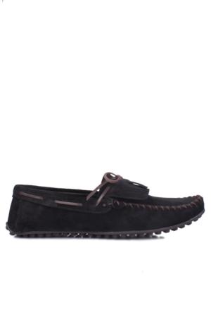 Kalahari 350002 039 008 Erkek Siyah Süet Yazlık Ayakkabı