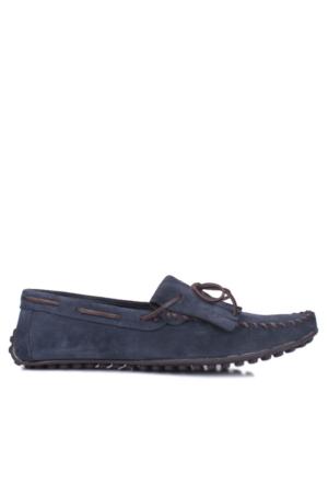 Kalahari 350002 039 428 Erkek Lacivert Süet Yazlık Ayakkabı
