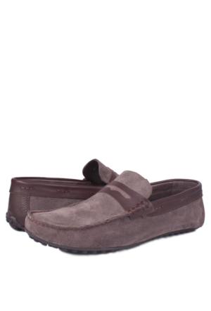 Kalahari 350003 039 328 Erkek Vizon Süet Yazlık Ayakkabı
