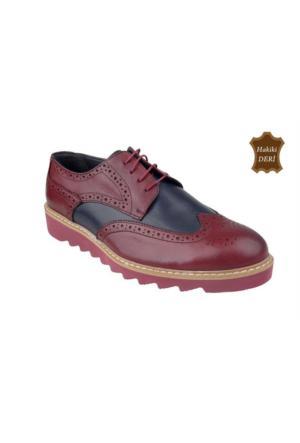 Wolfland 201 8619 Hakiki Deri Klasik Ayakkabı
