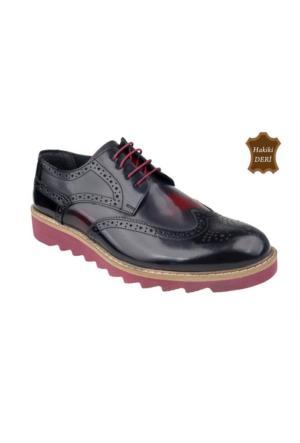 Wolfland 201 K 103106 Hakiki Deri Klasik Ayakkabı