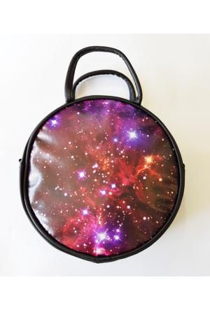 Köstebek Galaxy Yuvarlak Çanta Kypç025