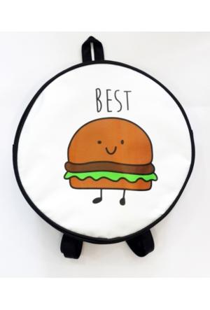 Köstebek Hamburger Best Sırt Çantası Kyç048