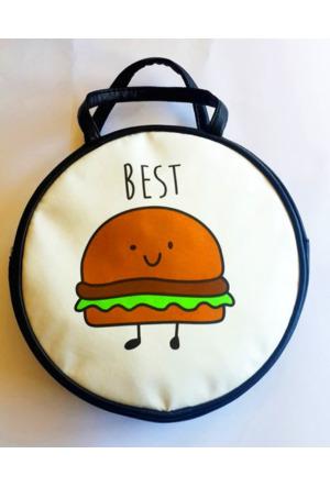 Köstebek Best Hamburger Yuvarlak Çanta Kypç026