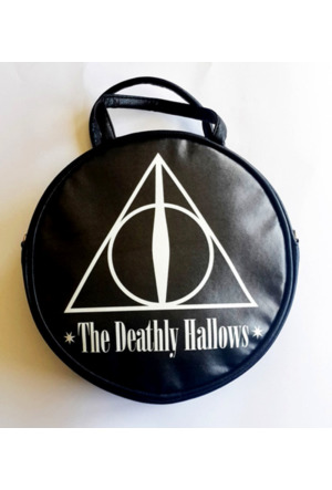 Köstebek Harry Potter - The Deathly Hallows Yuvarlak Çanta Kypç039