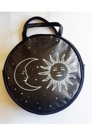 Köstebek Moon And Sun Yuvarlak Çanta Kypç044